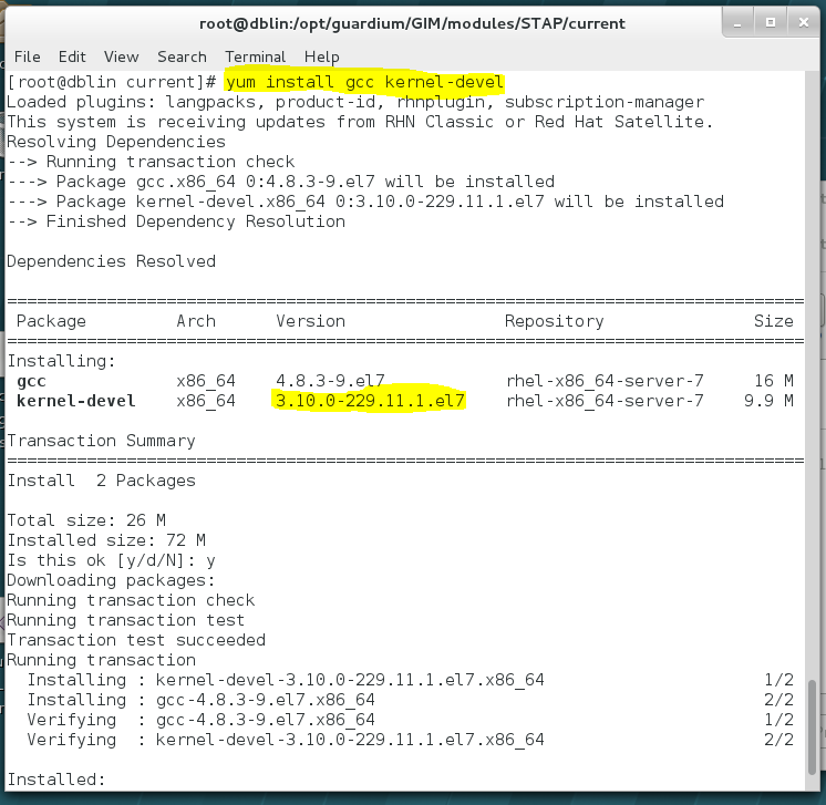 K-TAP installation failure on Linux is not a problem longer