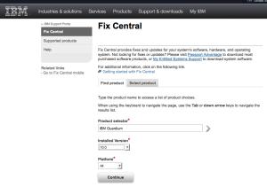 IBM Fix Page